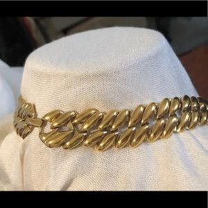 Monet Jewelry - Monet Gold Plated braided chain necklace